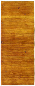 Gabbeh Persisk Matta 78X200 Äkta Modern Handknuten Hallmatta Brun/Ljusbrun (Ull, Persien/Iran)
