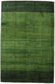 Gabbeh Persisk Matta 198X307 Äkta Modern Handknuten Mörkgrön/Grön (Ull, Persien/Iran)
