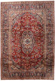 Keshan Matta 203X292 Äkta Orientalisk Handknuten Mörkbrun/Mörkröd (Ull, Persien/Iran)