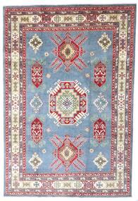Kazak Matta 202X298 Äkta Orientalisk Handknuten Ljusblå/Ljuslila (Ull, Afghanistan)