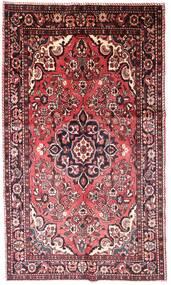 Lillian Matta 158X263 Äkta Orientalisk Handknuten Mörkbrun/Ljusrosa (Ull, Persien/Iran)
