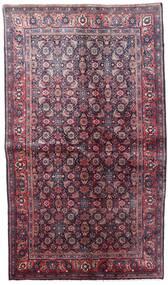 Hamadan Matta 131X227 Äkta Orientalisk Handknuten Mörklila/Rosa (Ull, Persien/Iran)