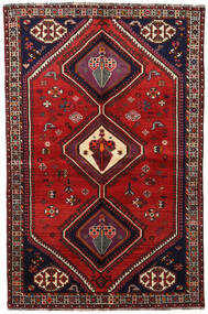 Ghashghai Matta 155X236 Äkta Orientalisk Handknuten Mörkröd/Roströd (Ull, Persien/Iran)