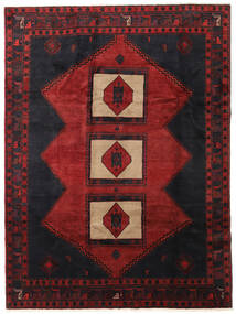 Klardasht Matta 208X284 Äkta Orientalisk Handknuten Mörkröd (Ull, Persien/Iran)