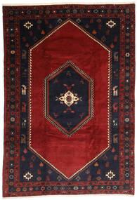 Klardasht Matta 203X300 Äkta Orientalisk Handknuten Mörkröd/Svart (Ull, Persien/Iran)