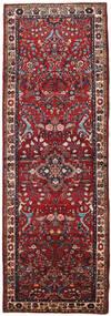 Mehraban Matta 108X316 Äkta Orientalisk Handknuten Hallmatta Mörkröd/Brun (Ull, Persien/Iran)