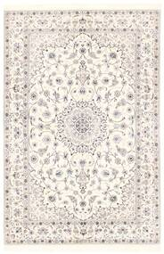 Nain 6La Matta 151X228 Äkta Orientalisk Handvävd Beige/Ljusgrå (Ull/Silke, Persien/Iran)