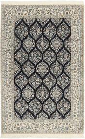 Nain 6La Matta 146X233 Äkta Orientalisk Handvävd Ljusgrå/Beige (Ull/Silke, Persien/Iran)