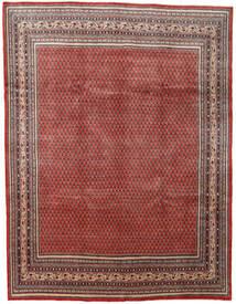 Sarough Mir Matta 280X367 Äkta Orientalisk Handknuten Mörkröd/Mörkbrun Stor (Ull, Persien/Iran)