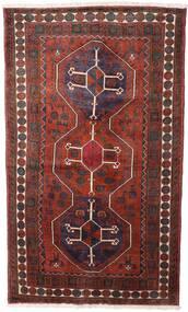 Hamadan Matta 120X205 Äkta Orientalisk Handknuten Mörkröd/Svart (Ull, Persien/Iran)