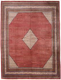 Sarough Mir Matta 288X385 Äkta Orientalisk Handknuten Mörkröd/Mörkbrun Stor (Ull, Persien/Iran)