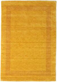 Handloom Gabba - Guld Matta 140X200 Modern Orange/Gul (Ull, Indien)