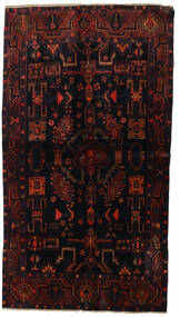 Lori Matta 130X234 Äkta Orientalisk Handknuten Mörkbrun/Mörkröd (Ull, Persien/Iran)