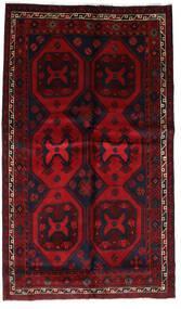 Lori Matta 150X254 Äkta Orientalisk Handknuten Mörkröd/Röd (Ull, Persien/Iran)