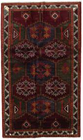 Lori Matta 142X240 Äkta Orientalisk Handknuten Mörkröd/Mörkbrun (Ull, Persien/Iran)