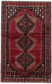 Lori Matta 150X244 Äkta Orientalisk Handknuten Mörkröd (Ull, Persien/Iran)