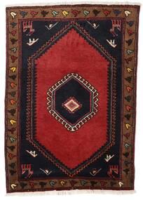 Klardasht Matta 85X120 Äkta Orientalisk Handknuten Mörkröd/Roströd (Ull, Persien/Iran)