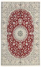 Nain 9La Matta 149X238 Äkta Orientalisk Handknuten Ljusgrå/Beige (Ull/Silke, Persien/Iran)