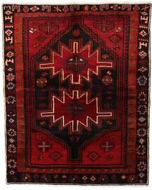 Lori Matta 165X204 Äkta Orientalisk Handknuten Mörkbrun/Mörkröd (Ull, Persien/Iran)