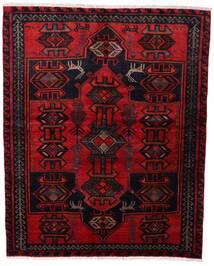 Lori Matta 165X205 Äkta Orientalisk Handknuten Mörkröd/Röd (Ull, Persien/Iran)