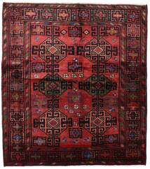 Lori Matta 171X192 Äkta Orientalisk Handknuten Mörkröd (Ull, Persien/Iran)
