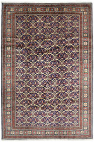 Keshan Matta 198X292 Äkta Orientalisk Handknuten Mörkgrå/Ljusgrå (Ull, Persien/Iran)