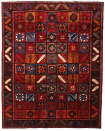 Lori Matta 203X255 Äkta Orientalisk Handknuten Mörkröd/Roströd (Ull, Persien/Iran)