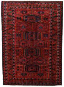 Lori Matta 182X248 Äkta Orientalisk Handknuten Mörkröd/Svart (Ull, Persien/Iran)