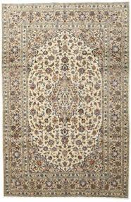 Keshan Matta 197X296 Äkta Orientalisk Handknuten Ljusgrå/Beige (Ull, Persien/Iran)
