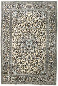 Keshan Matta 196X292 Äkta Orientalisk Handknuten Mörkgrå/Ljusgrå (Ull, Persien/Iran)
