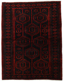 Lori Matta 171X218 Äkta Orientalisk Handknuten Mörkröd/Röd (Ull, Persien/Iran)