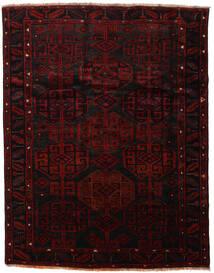 Lori Matta 183X232 Äkta Orientalisk Handknuten Mörkröd/Röd (Ull, Persien/Iran)