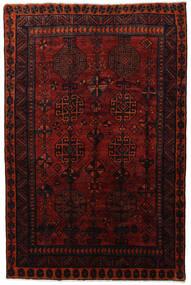 Lori Matta 171X258 Äkta Orientalisk Handknuten Mörkröd (Ull, Persien/Iran)