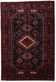 Lori Matta 170X244 Äkta Orientalisk Handknuten Mörkröd (Ull, Persien/Iran)