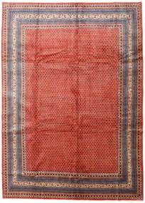 Sarough Mir Matta 270X375 Äkta Orientalisk Handknuten Roströd/Mörkröd Stor (Ull, Persien/Iran)