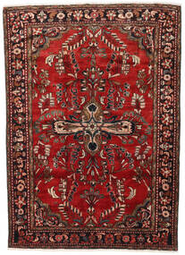 Lillian Matta 168X231 Äkta Orientalisk Handknuten Mörkröd/Mörkbrun (Ull, Persien/Iran)