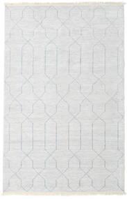 Bambu Silke Handloom Matta 160X230 Äkta Modern Handknuten Beige/Ljusgrå/Vit/Cremefärgad ( Indien)