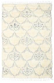 Barchi/Moroccan Berber - Indisk Matta 160X230 Äkta Modern Handknuten Vit/Cremefärgad/Beige/Ljusgrå (Ull, Indien)