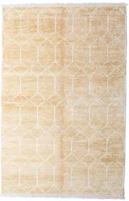 Bambu Silke Handloom Matta 160X230 Äkta Modern Handknuten Beige/Vit/Cremefärgad ( Indien)