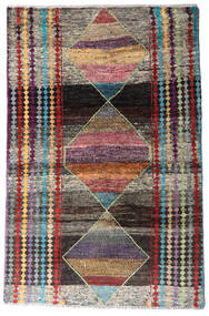 Moroccan Berber - Afghanistan Matta 113X174 Äkta Modern Handknuten Mörkgrå/Ljusgrå (Ull, Afghanistan)