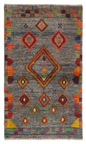 Moroccan Berber - Afghanistan Matta 85X144 Äkta Modern Handknuten Ljusgrå (Ull, Afghanistan)