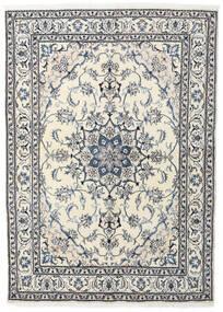 Nain Matta 164X228 Äkta Orientalisk Handknuten Beige/Ljusgrå (Ull, Persien/Iran)