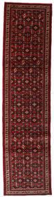 Hamadan Matta 72X292 Äkta Orientalisk Handknuten Hallmatta Mörkröd (Ull, Persien/Iran)