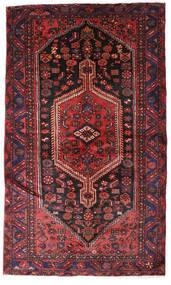 Hamadan Matta 132X224 Äkta Orientalisk Handknuten Mörkröd/Mörkbrun (Ull, Persien/Iran)