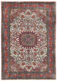 Bidjar Takab/Bukan Matta 113X153 Äkta Orientalisk Handknuten Mörkgrå/Mörkröd (Ull, Persien/Iran)