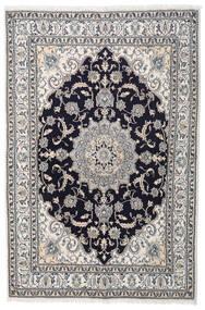 Nain Matta 164X245 Äkta Orientalisk Handknuten Ljusgrå/Mörklila (Ull, Persien/Iran)