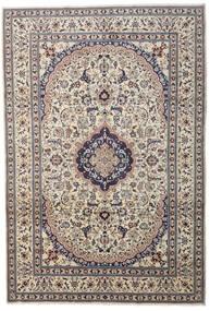 Nain Matta 241X349 Äkta Orientalisk Handknuten Ljusgrå/Mörkgrå/Beige (Ull, Persien/Iran)