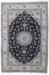 Nain Matta 197X290 Äkta Orientalisk Handknuten Ljusgrå/Mörkgrå (Ull, Persien/Iran)