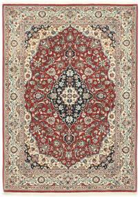 Ilam Sherkat Farsh Matta 106X146 Äkta Orientalisk Handknuten Mörkröd/Mörkgrå (Ull, Persien/Iran)