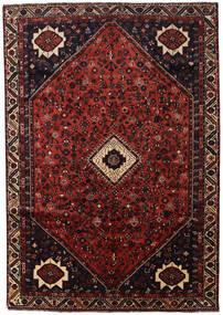 Shiraz Matta 210X300 Äkta Orientalisk Handknuten Mörkröd/Mörkbrun (Ull, Persien/Iran)